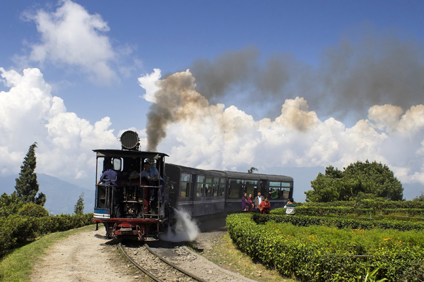 India, Darjeeling, Toy Train