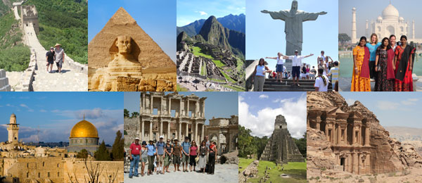 Iconic sights to explore on an adventure tour