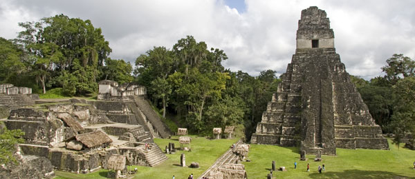 Visit the ruins of Tikal, Guatemala