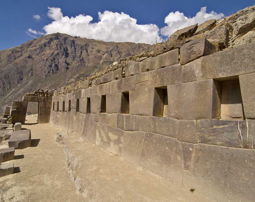 Ollantaytambo an archaeological site and town in southern Peru