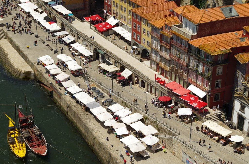 Views from the bridge, Porto