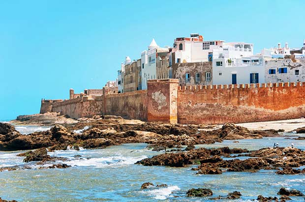 Essaouira; a city and port on the Atlantic coast