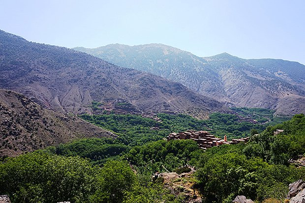 Mountain view in Morocco