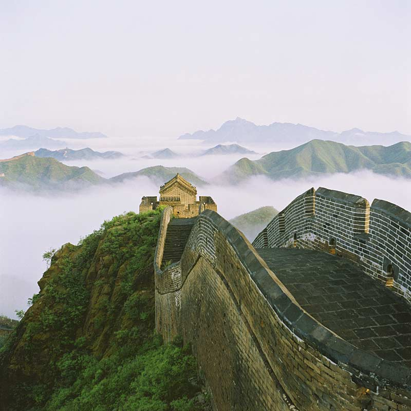 The one and only Great Wall of China