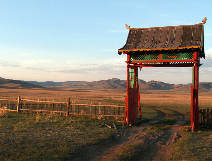 Countryside in Mongolia