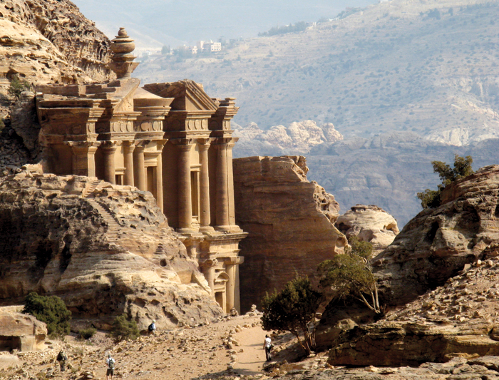 Petra the historical archaeological city