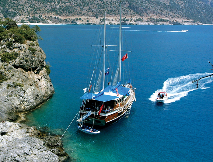 Boating in Turkey