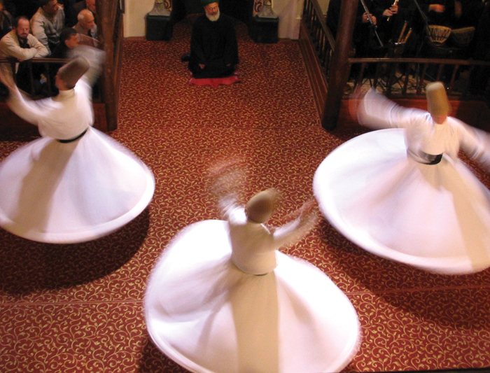 Traditional dancing in Turkey